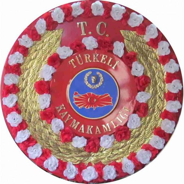Metal Çelenk 1656